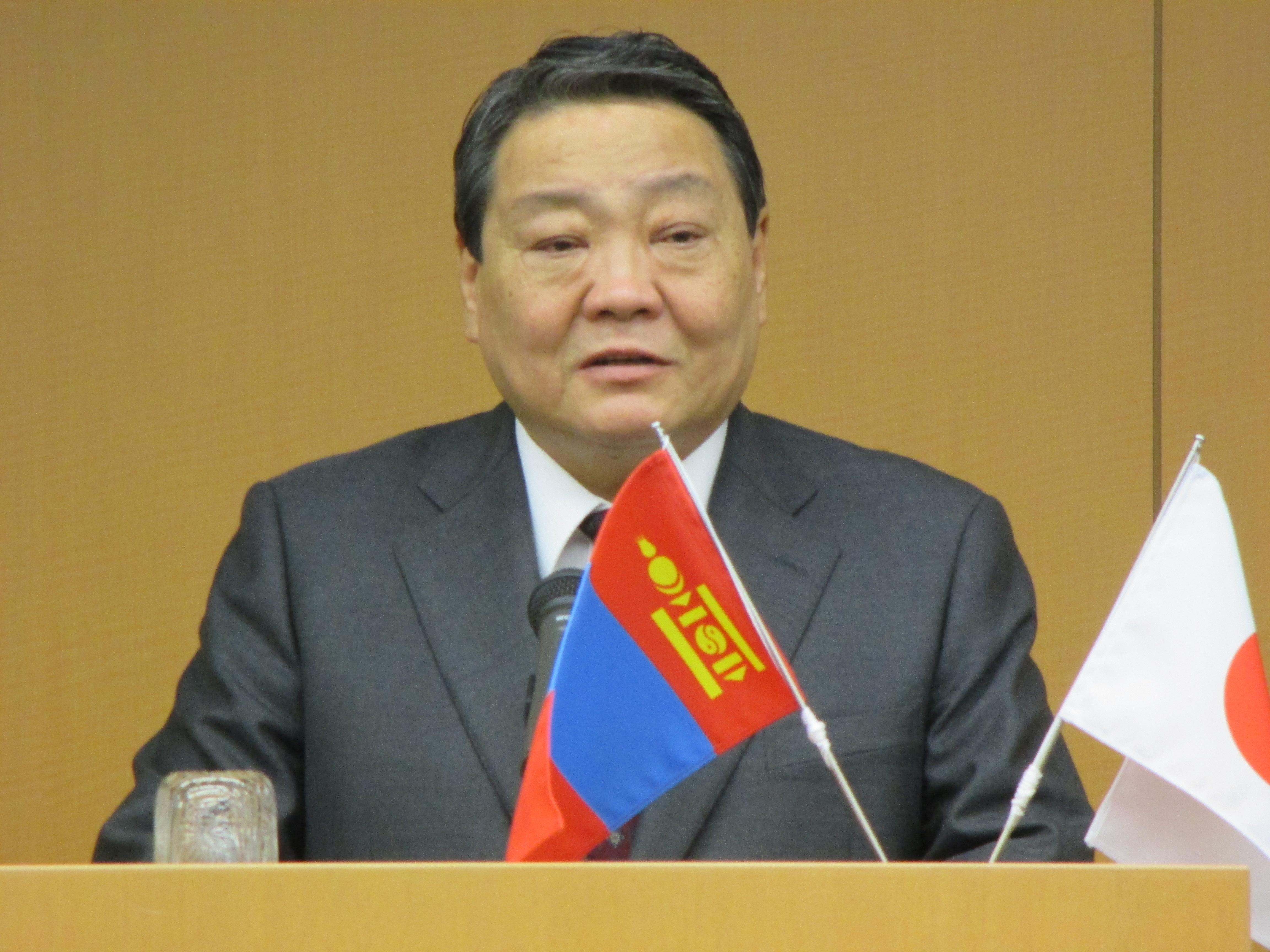 「日本に対しては3k(感謝・関心・期待)」とソドブジャムツ・フレバータル大使閣下