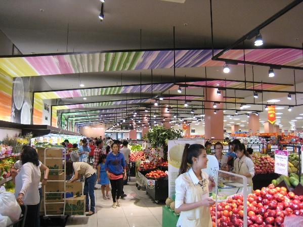 生鮮品売場