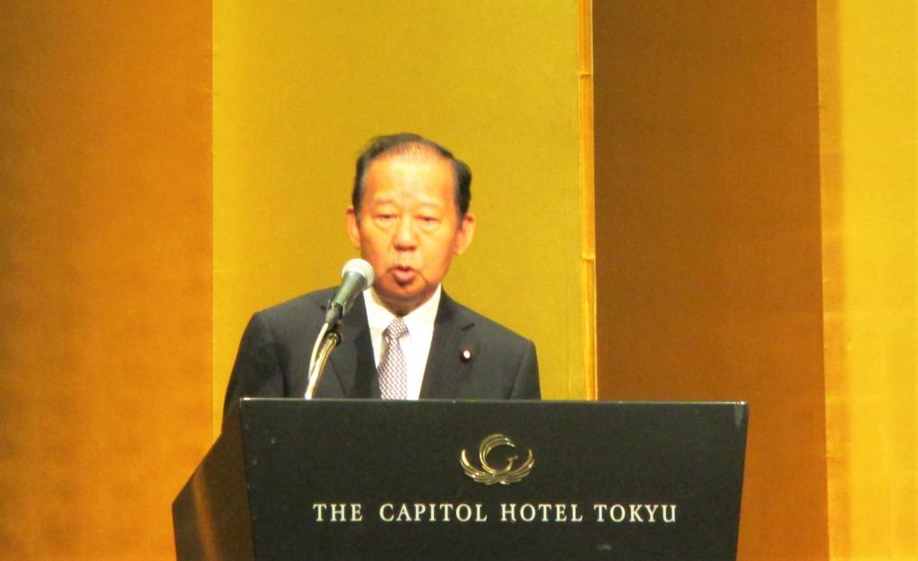 二階俊博 自由民主党総務会長
