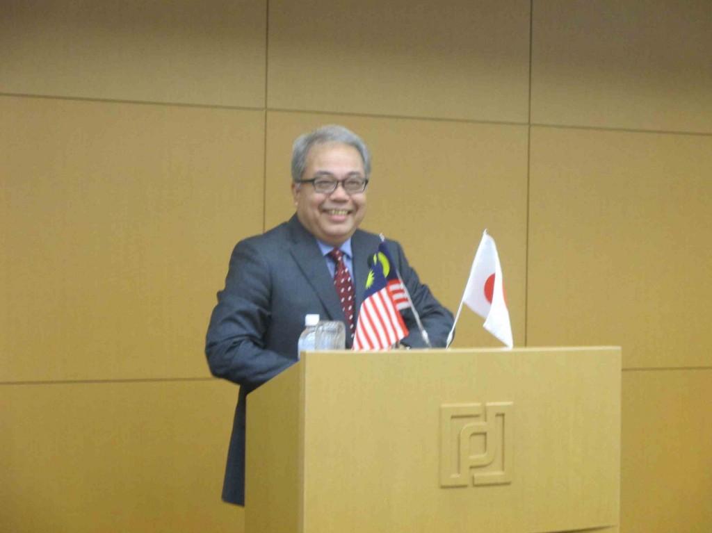 駐日マレーシア特命全権大使 ダト・アハマッド・イズラン・ビン・イドゥリス閣下