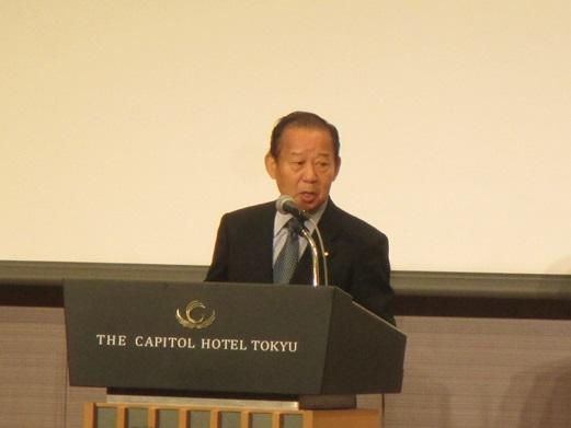 二階俊博 自由民主党幹事長
