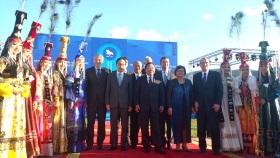【モンゴル民主化25周年記念式典】