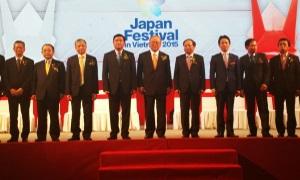 【Japan Festival in Vietnam 2015 開会式】
