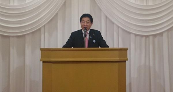 【第一部講演】塩崎恭久前厚生労働大臣
