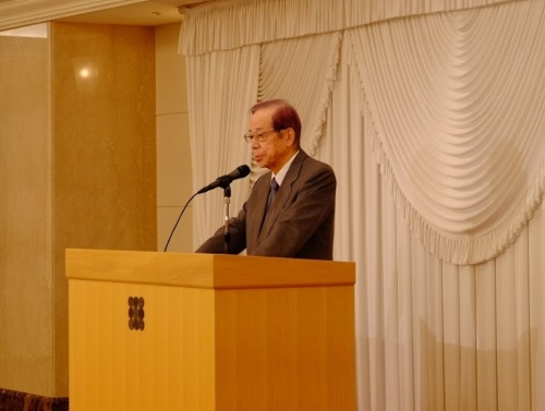 元内閣総理大臣 福田康夫氏