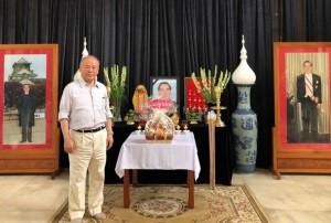 故ファン・ヴァン・カイ元首相の故郷で墓参